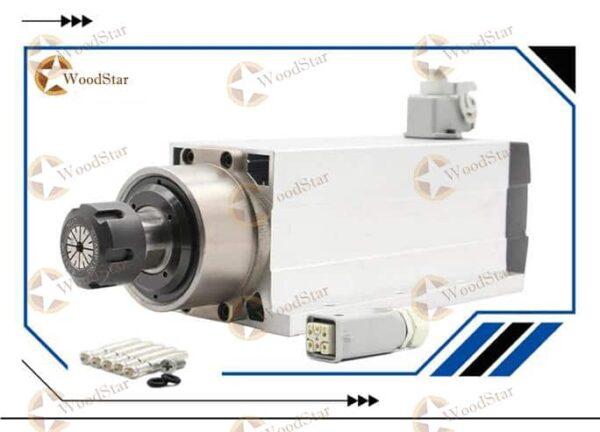 3.5kw ER25 Air Cooled Spindle Motor8