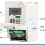 1.5kw ER11 Air Cooled Spindle Motor, VFD, Spindle bracket