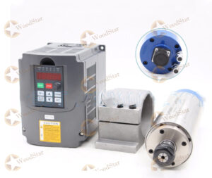 220vAC 2.2kw CNC Water Cooled Spindle Motor