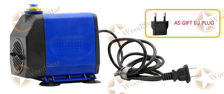 3.0kw ER20 water cooled spindle, VFD, water pump, spindle collets (20)