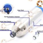 3.2kw ER20 water cooled spindle, VFD