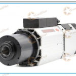 9.0kw Long axis air cooled spindle motor