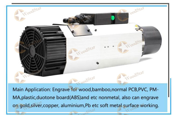 9.0kw-Long-axis-air-cooled-spindle-motor-ceramic-ball-bearings-5